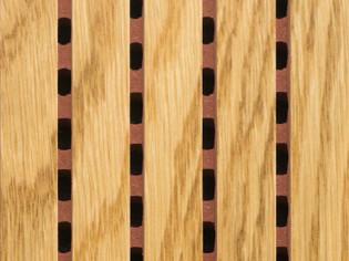 Акустические потолочно-стеновые  панели. Дуб Натуральный (5014-0512-)