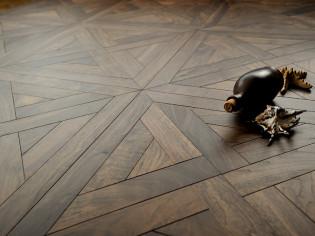 """Модульный паркет Coswick """"Ланже"""" Американский орех Классический (арт.1316-3761)"""