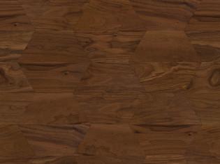 Трапеция, трехслойный инженерный паркет Coswick Натуральный Американский орех (арт. 1394-1201)