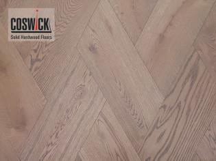 Плетенка, Французская елка, трехслойная инженерная доска Coswick Дуб Скалистый риф (арт. 1183-4230)