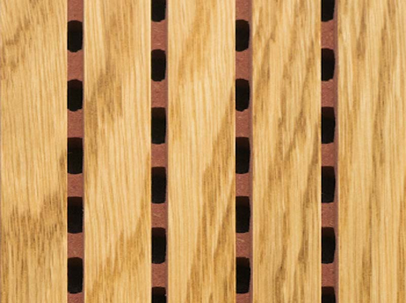 Акустические потолочно-стеновые  панели.  Дуб Натуральный  (5014-0304-)
