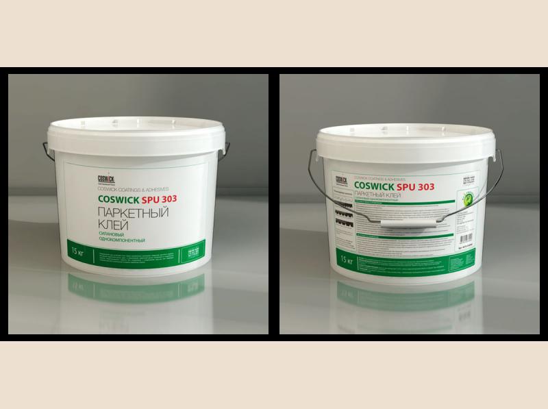 Паркетный клей на основе силан-модифицированного полиуретана SPU 303 (15 кг.) (арт. 4670-030000)