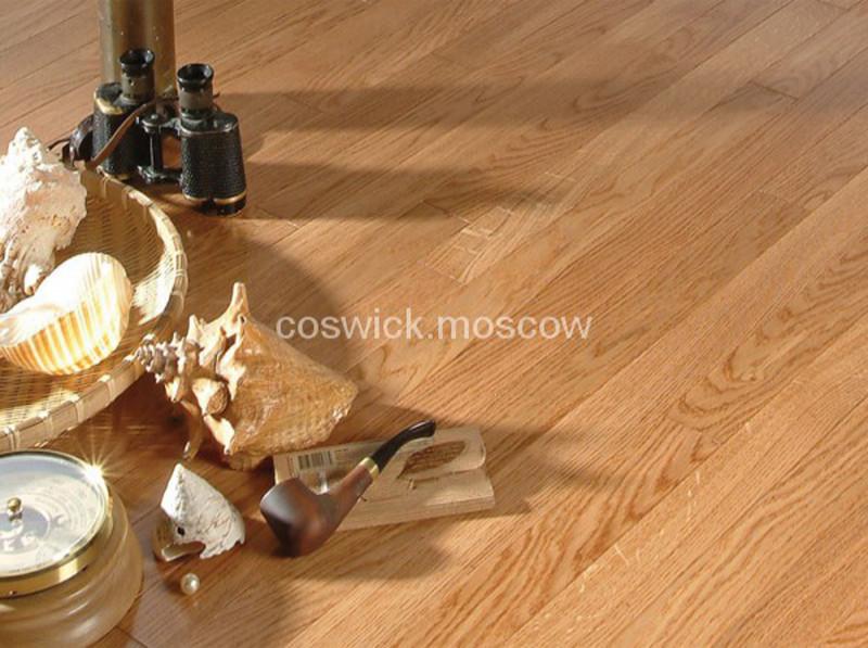 Трехслойная инженерная доска Coswick Дуб Розовый (арт.1154-1102)