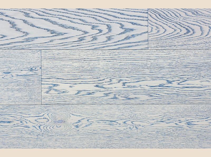 Трёхслойная инженерная доска Coswick Дуб Индиго (арт.1163-7556)
